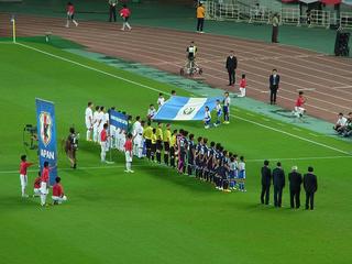 キリンチャレンジカップ2013 グアテマラ戦1.JPG