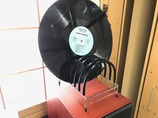 自作レコード乾燥台.jpg